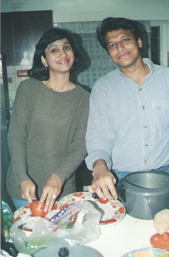 Swetha and Vaibhav Vaid