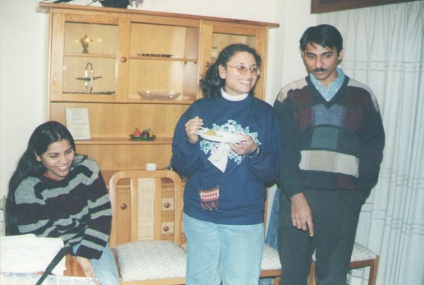 Meena Kaushal, Sudeshna and Soumya Basu