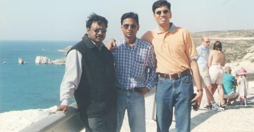Myself, Anand Bogawandas, Vinod Melarkode