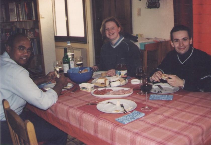Krystal, Burt and Srinivas