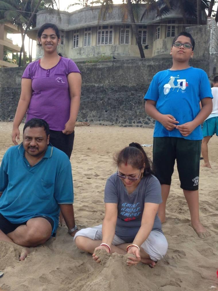 Nidhish, Ranoo, Deepshree and Partha