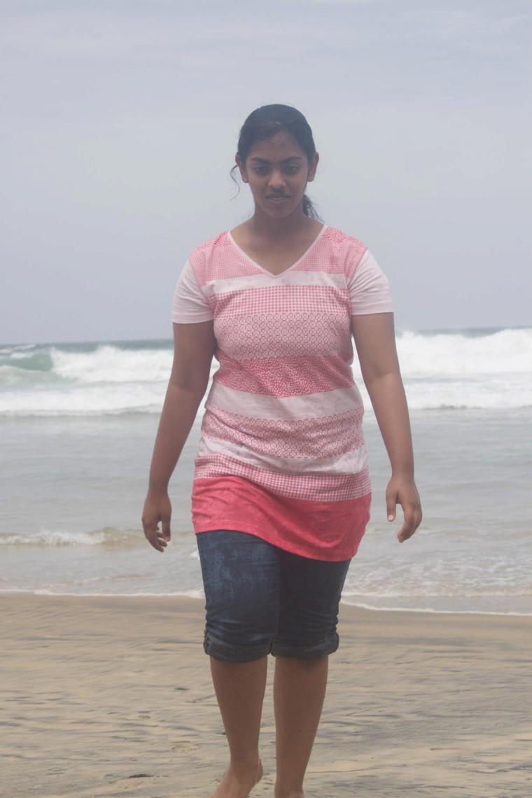 Ranoo at Kovalam Beach