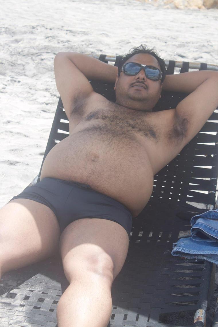Partha at Kovalam Beach