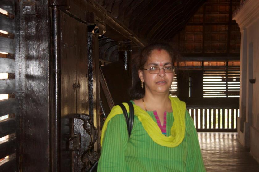 Deepshree Inside the Palace