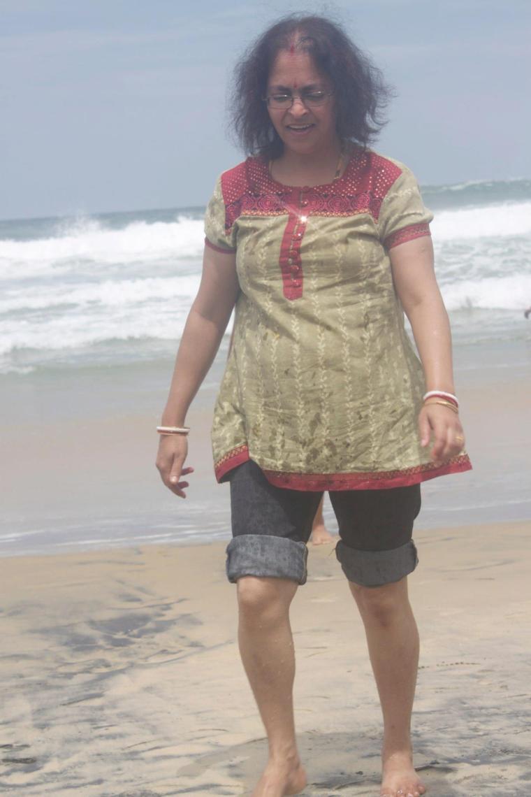 Deepshree at Kovalam Beach
