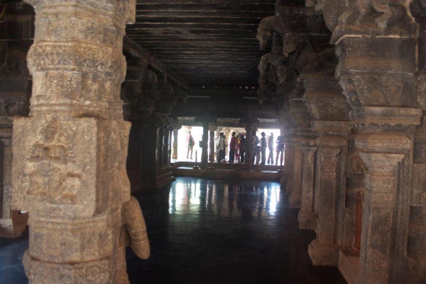 Pillars Inside the Palace