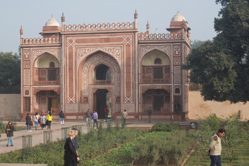 Gardens around Itmad-ud-Daulah