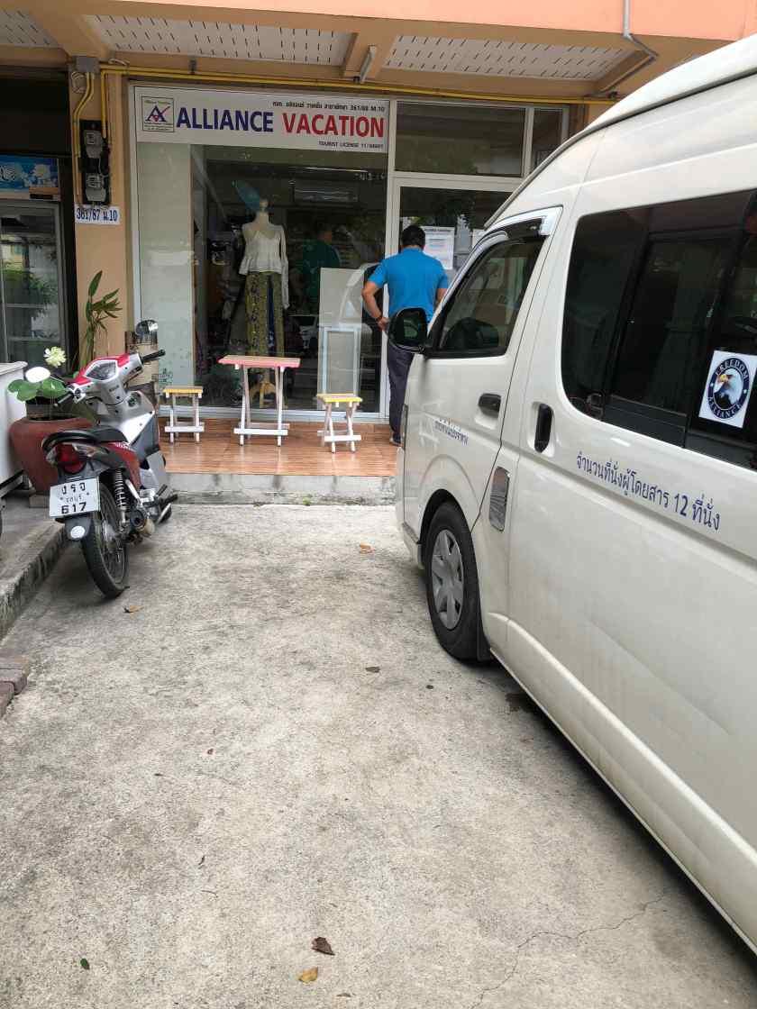 Office of Alliance Vacation in Pattaya