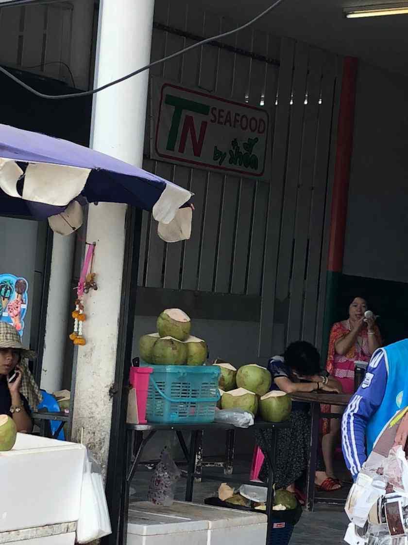 TN Seafood Restaurant on Coral Island