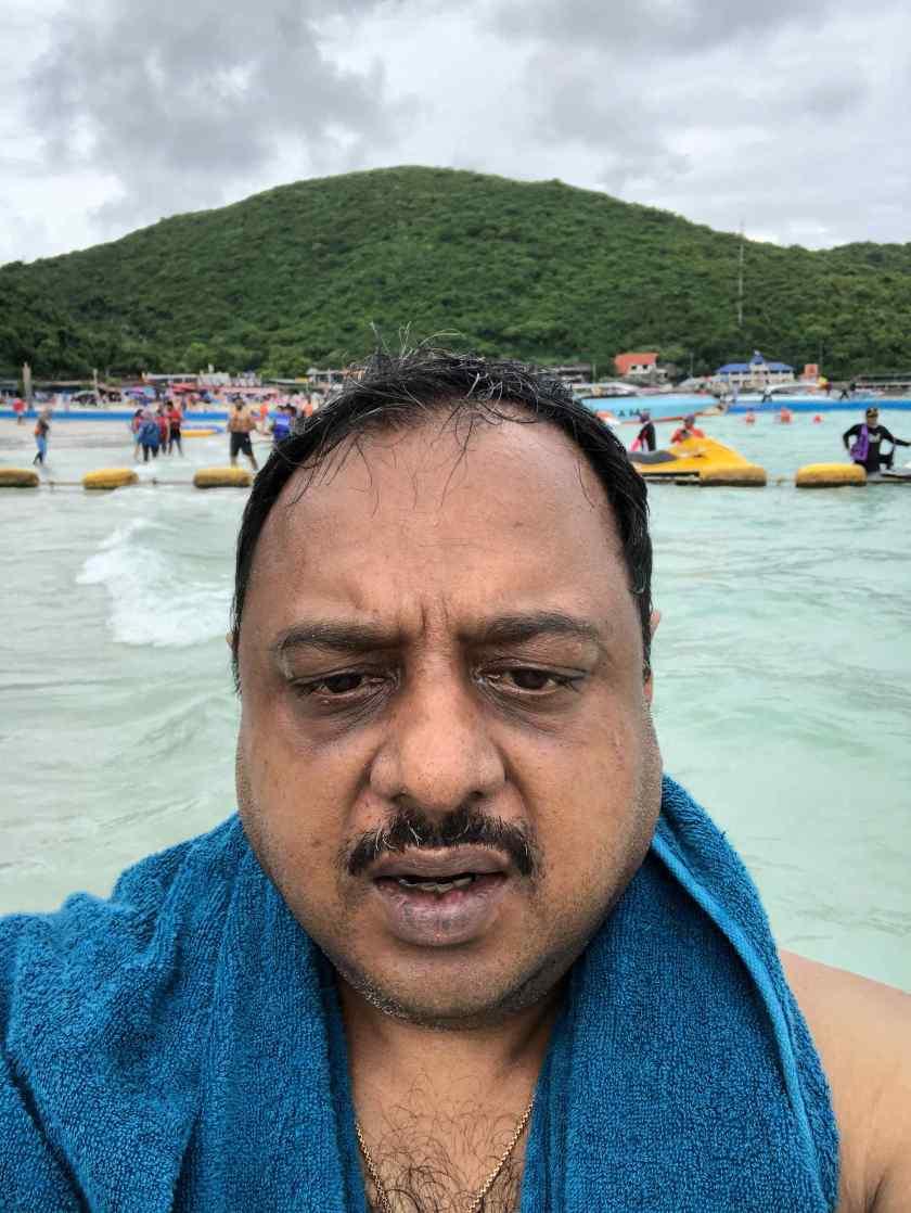 At Coral Island