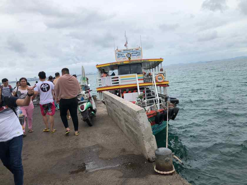 Boarding Boat to Koh Sak for Snorkelling