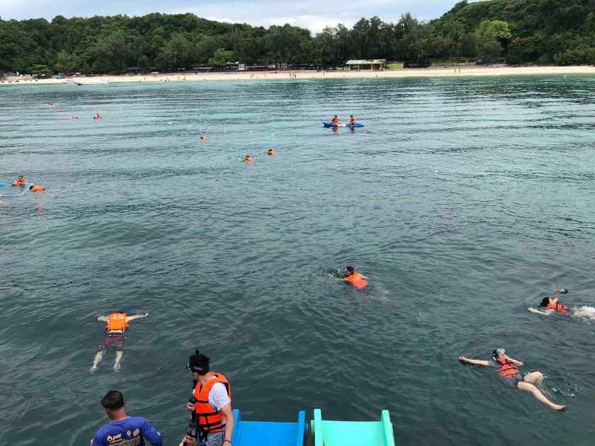 Snorkelling at Koh Sak
