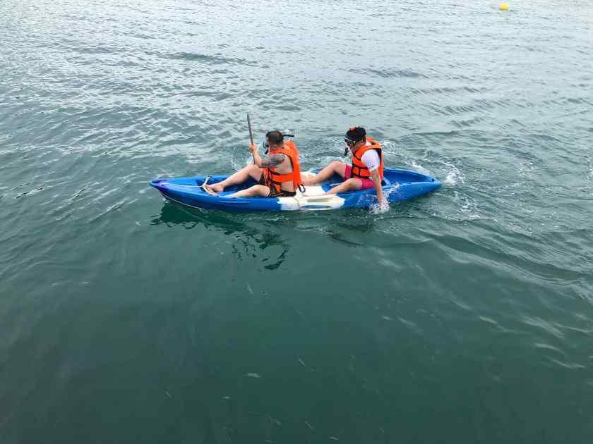Rowing at Koh Sak