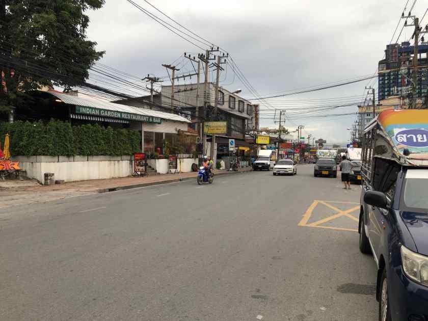 Driving through Pattaya City