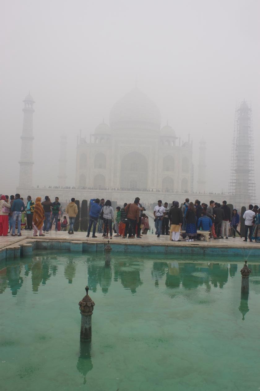 First Sighting of the Taj Mahal