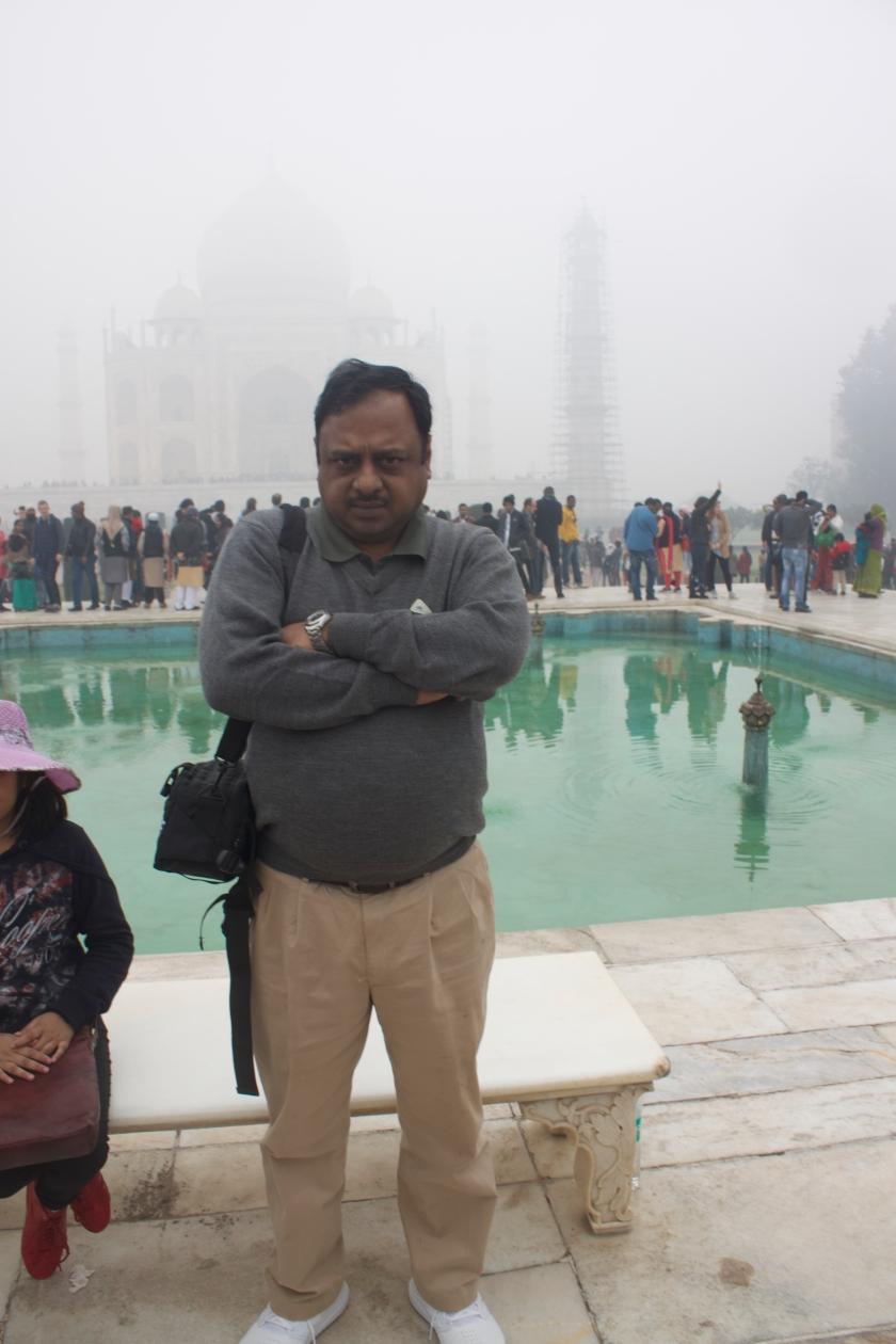 Dignitary Spot at Taj Mahal