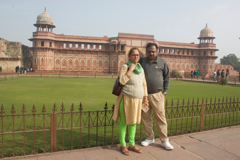 Lawns in Agra Fort