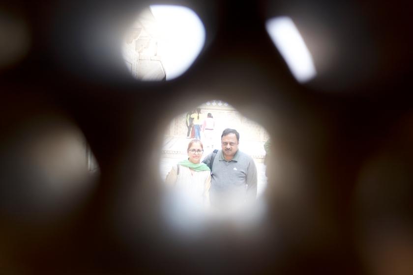 Sahajahan's Room when he was imprisoned by Aurangzeb