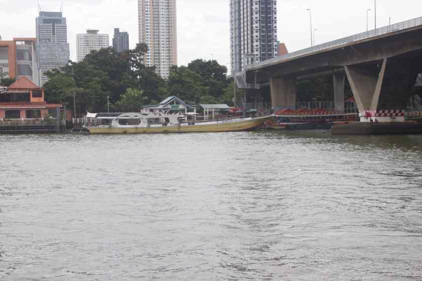 Boat on Chao Phraya