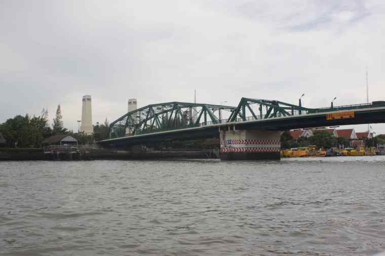 First Steel Bridge made in Thailand more than 150 years ago