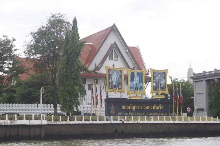 Naval Establishment besides Wat Arun
