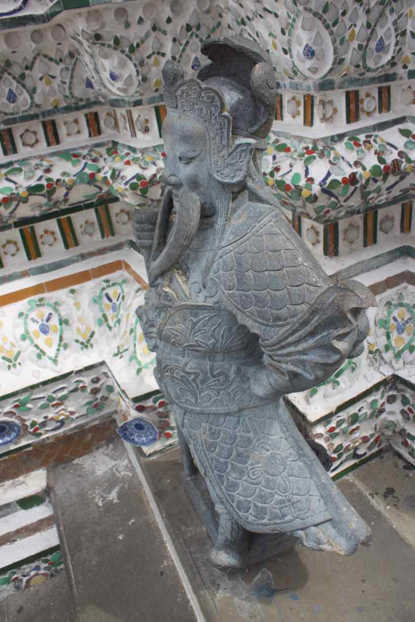 Sculpture in Wat Arun