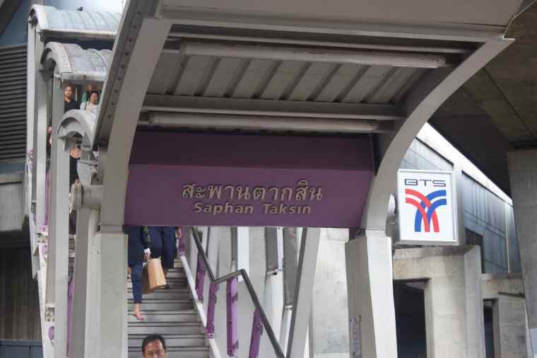 Saphan Taksin Metro Station