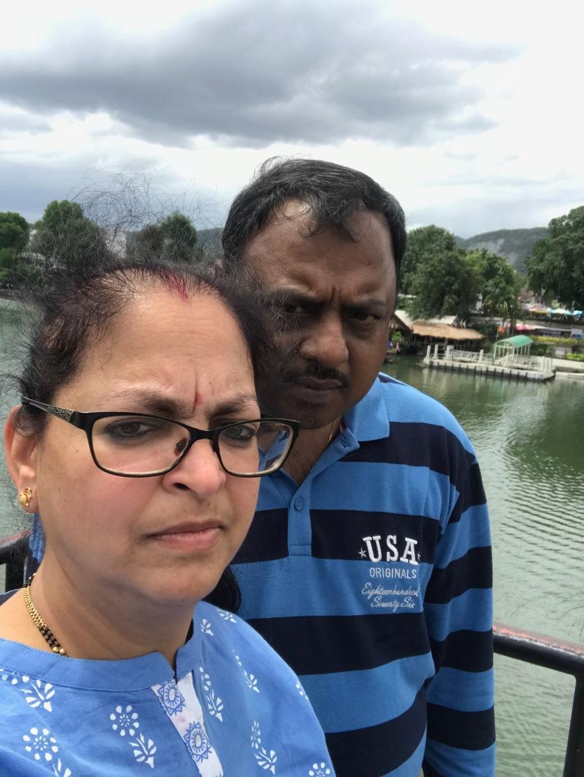 Deepshree clicked our Selfie on the Bridge