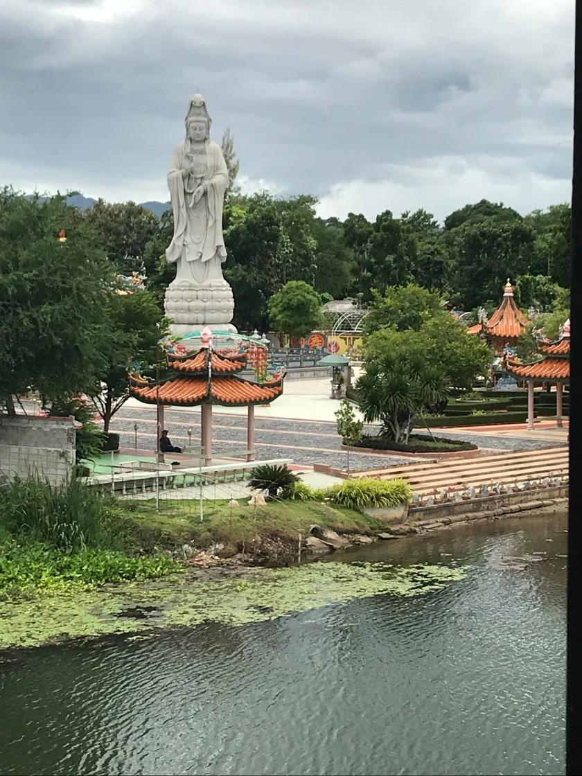 Close Up of the Buddha Statue