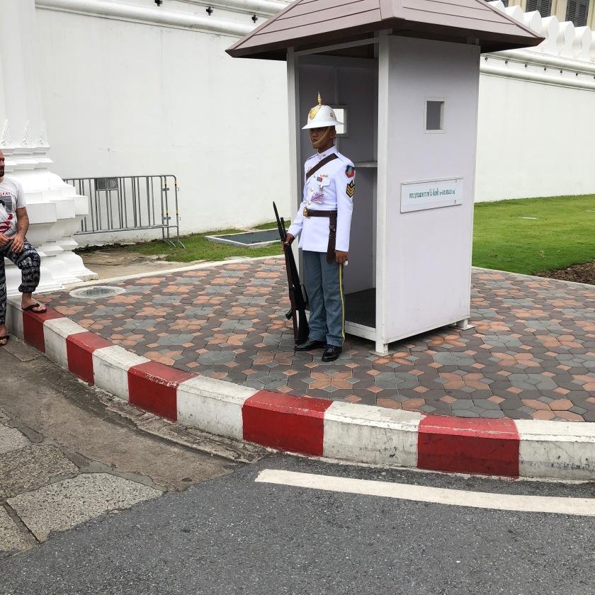 Guard at the Entrance of Grand Palace