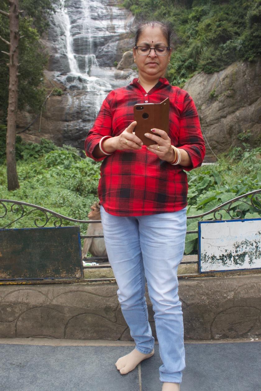 Deepshree at Silver Cascade Falls