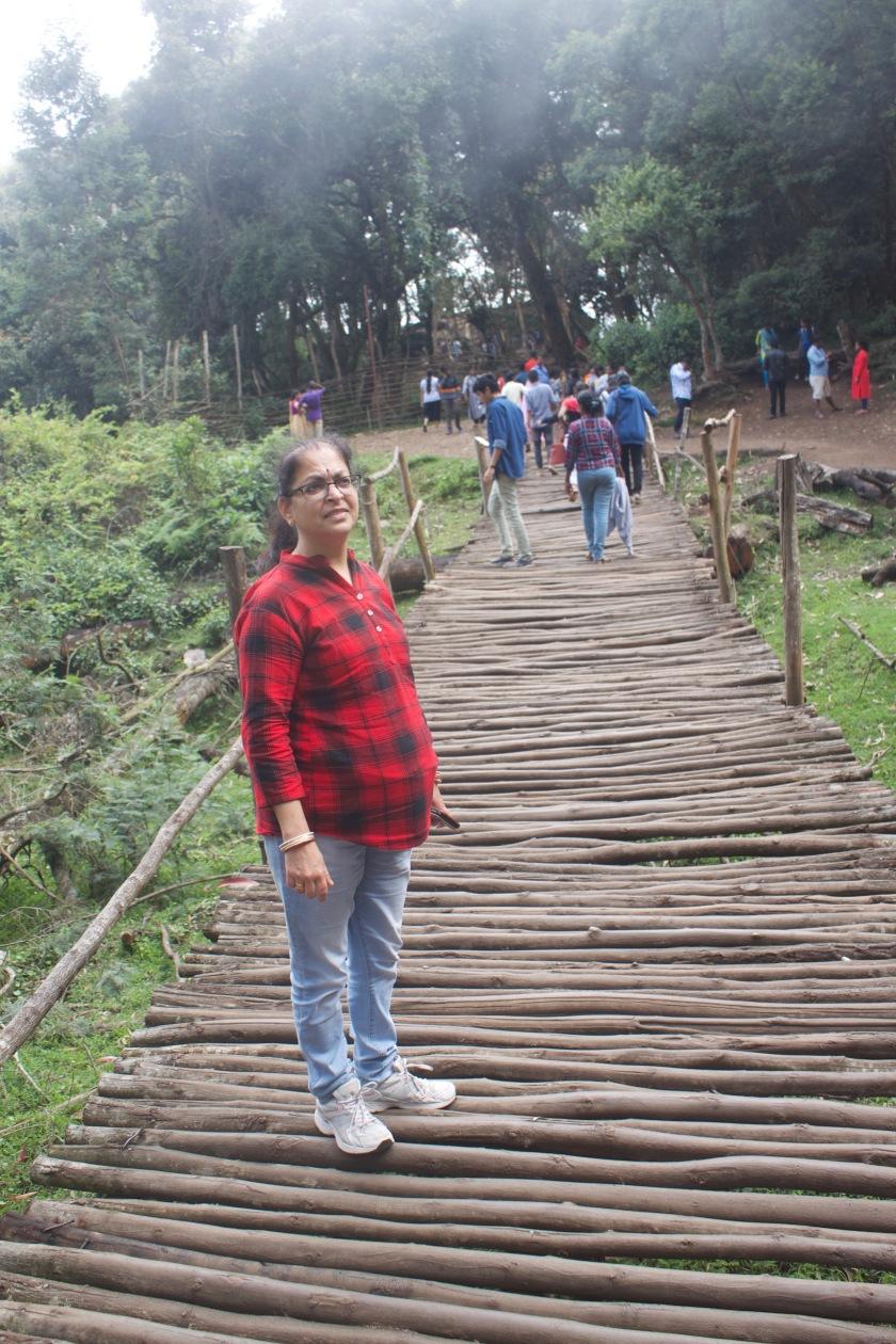 Deepshree at Guna Caves