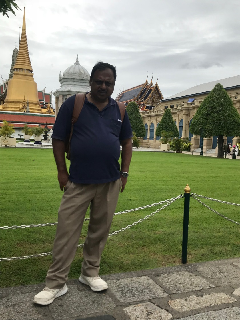 Me with Grand Palace in the background