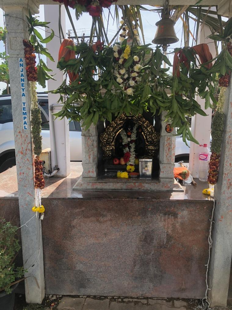 Hanuman Temple at Nandi Grand