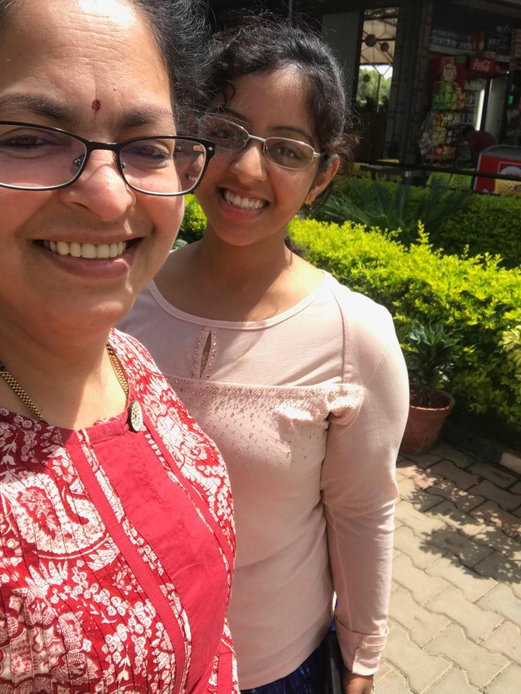 Selfie by Deepshree at Nandi Grand