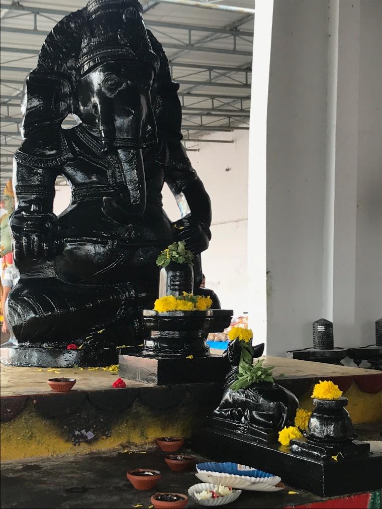 Ganapati Idol at the exit