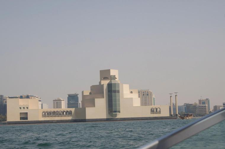 Scenes around the Katara Beach