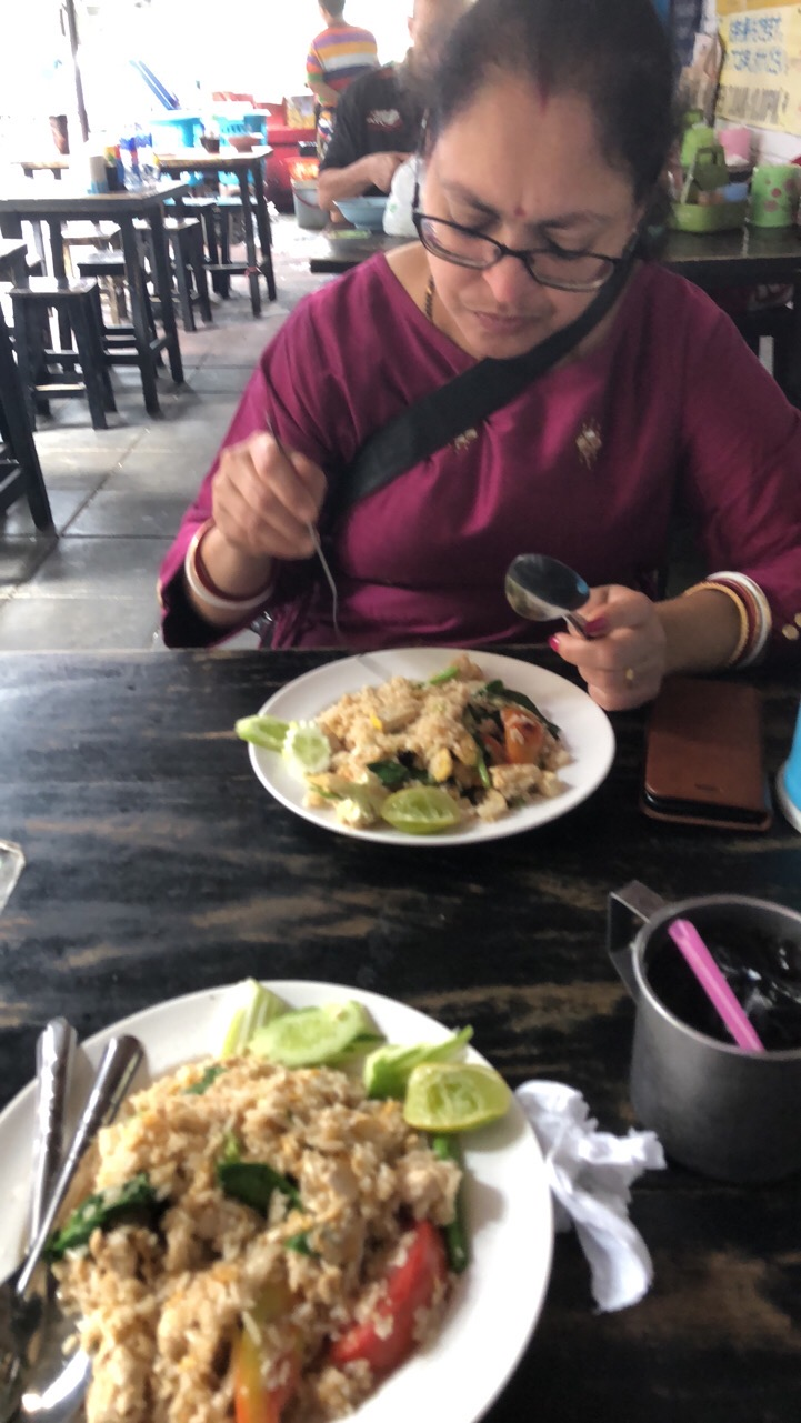 Street Side restaurant near Phrom Phong Metro Station