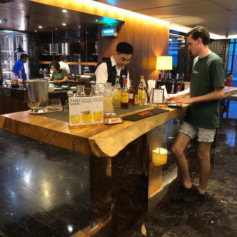 Bar at the Executive Dining Hall