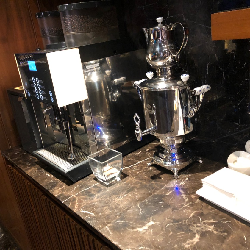 Tea, Coffee machines at the Executive Dining Hall