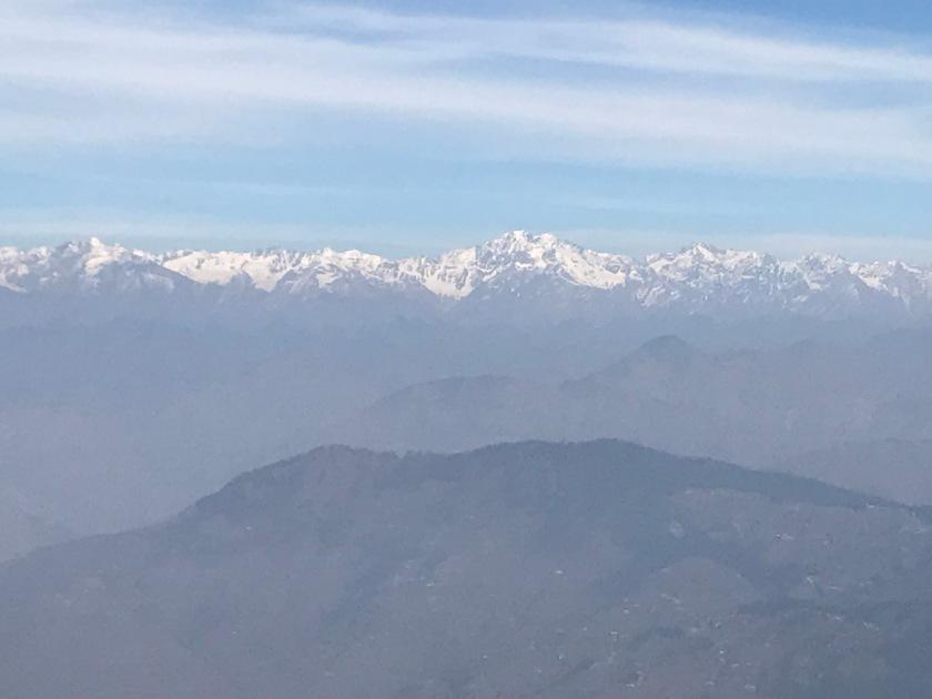 View of Shivalik Range